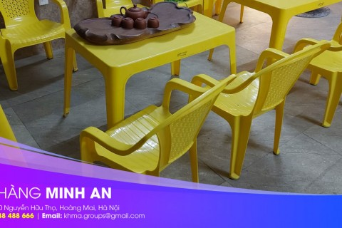 Có nên mua bàn ghế ăn bằng nhựa Song Long không?