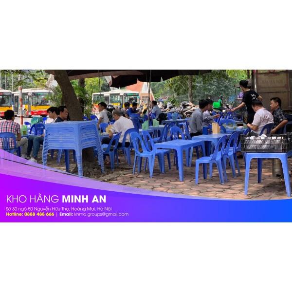 Tại sao nên dùng bàn ghế nhựa Song Long cho quán ăn vặt?