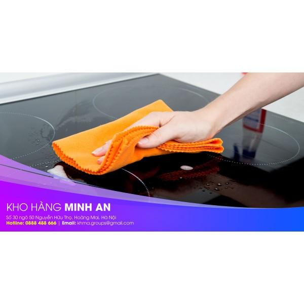 Set 10 khăn lau nhà bếp siêu thấm hút giúp vệ sinh bếp từ hiệu quả