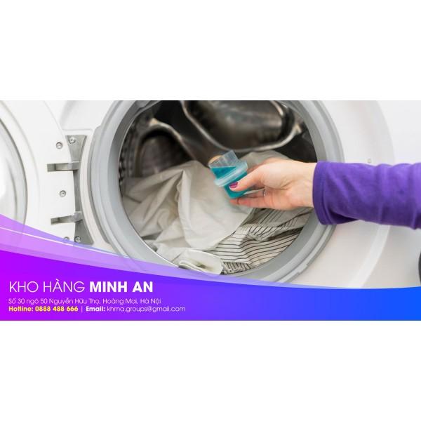 Hướng dẫn sử dụng nước xả làm mềm vải với máy giặt