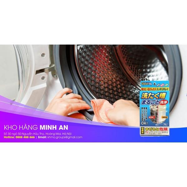 Hướng dẫn sử dụng gói tẩy vệ sinh lồng giặt đúng cách