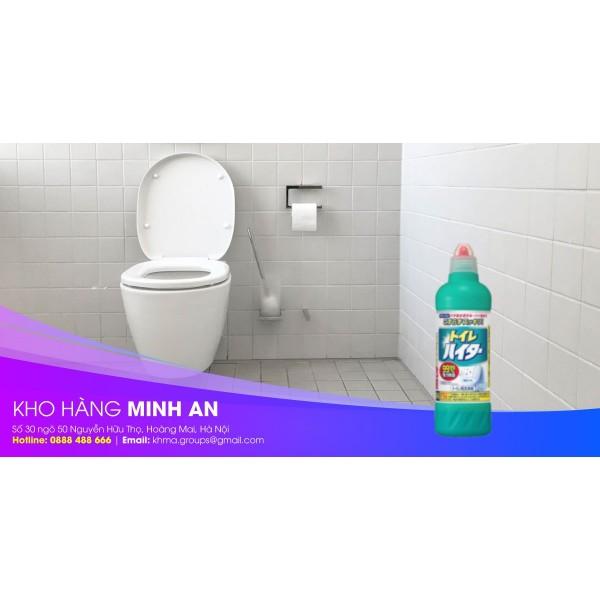 Vệ sinh bồn cầu hiệu quả với chai tẩy rửa bồn cầu toilet Haiter Kao