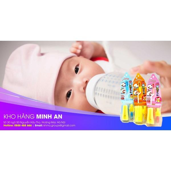 Vệ sinh bình sữa cho trẻ đúng cách